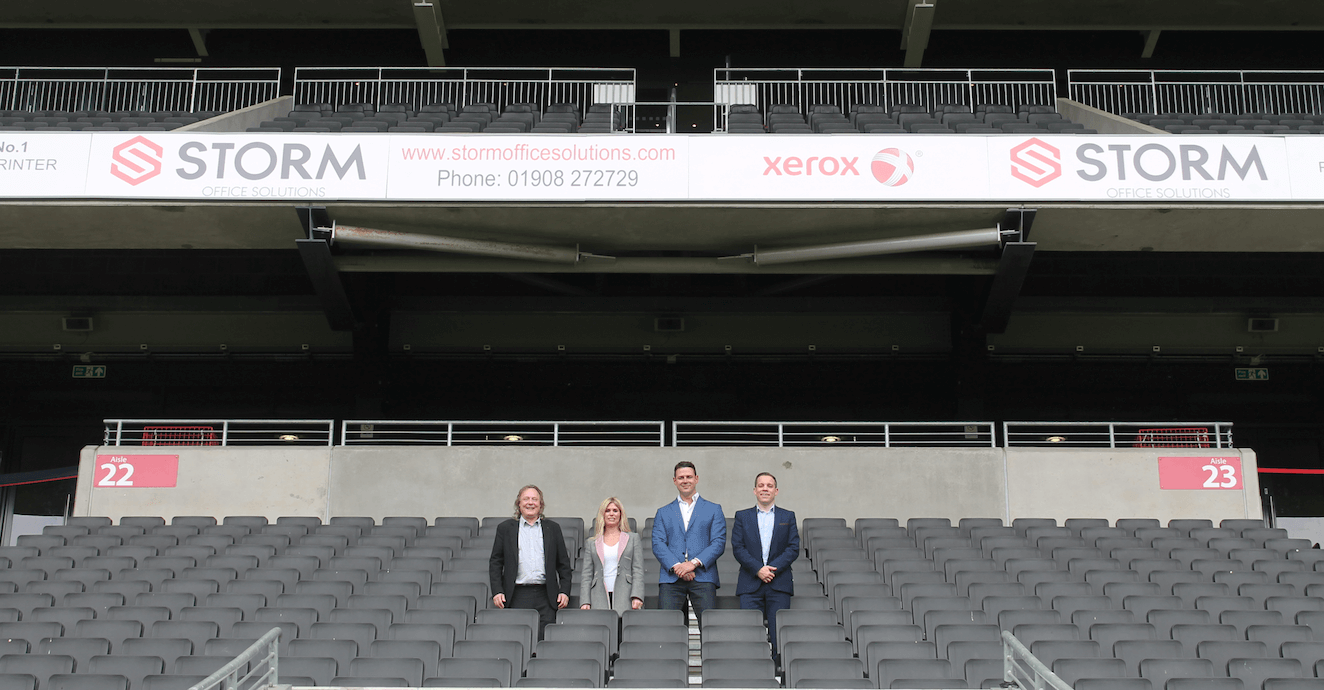 STORM OFFICE SOLUTIONS ARE OFFICIAL SOLUTION PARTNERS OF THE MK DONS