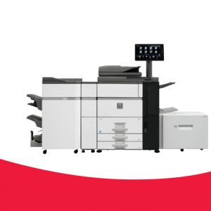 "MX-6500N / MX-7500N Pro Series  High speed 65ppm and 75ppm high colour system for departments or small printrooms  Large 15.4"" head-up colour LCD panel allows easy operation of integral print controller  Supported by optional full size retractable QWERTY keyboard  Advanced colour control features  Pantone Licensing offers colour fidelity to the Pantone Matching System"