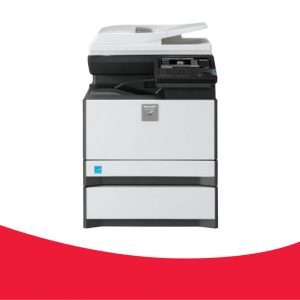 MX-C301W  30ppm A4 Colour 4 in 1 Desktop MFP  Fax capability includes PC-Fax for emailing faxes PCL & Postscript printing  Direct Printing for printing TIFF, JPEG, TXT, & PDFs  Wireless LAN connector