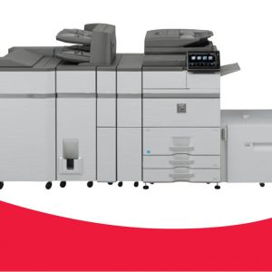 """MX-M654N/M754N  High performance 65ppm and 75ppm mono departmental document systems  High productivity and strong versatility  Standard wireless networking capability  Advanced finishing options  Web browsing option for access to the Internet directly from the 10.1"""" colour LCD panel"""