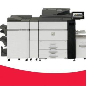 MX-M905  90ppm mono system for high volume office & small print rooms  Access to popular cloud applications, including Microsoft® OneDrive®, SharePoint® Online and Google Drive™ with Sharp's Cloud Connect features  High speed scanning up to 200 opm in colour and B/W with standard 250 sheet DSPF  1200 x 1200dpi printing  Flexible modular design enables variety of configurations